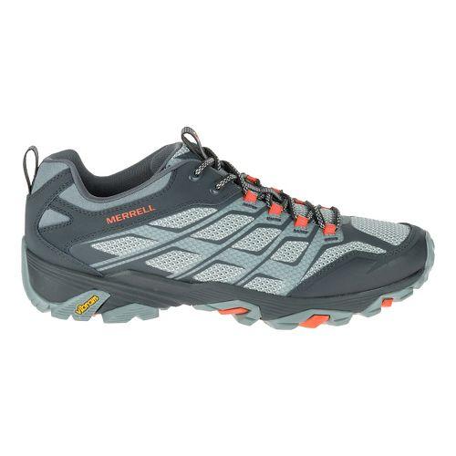 Mens Merrell Moab FST Hiking Shoe - Grey/Orange 8.5