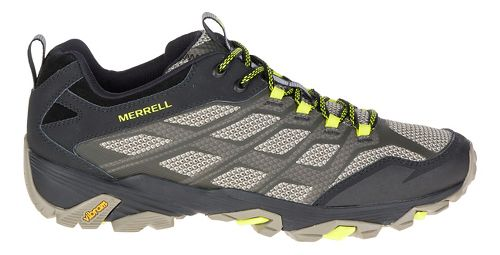 Mens Merrell Moab FST Hiking Shoe - Olive Black 10