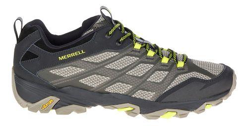 Mens Merrell Moab FST Hiking Shoe - Olive Black 11.5