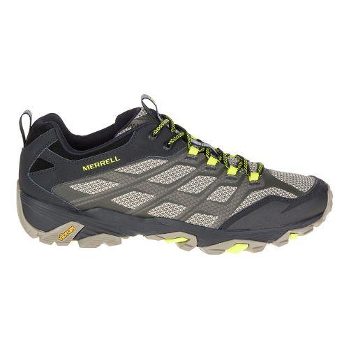 Mens Merrell Moab FST Hiking Shoe - Olive Black 10.5
