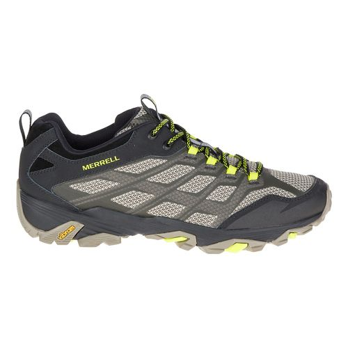 Mens Merrell Moab FST Hiking Shoe - Olive Black 15