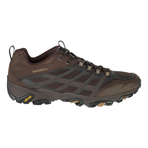 Mens Merrell Moab FST Hiking Shoe - Grey/Orange 11