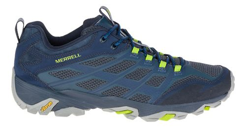 Mens Merrell Moab FST Hiking Shoe - Navy 9.5