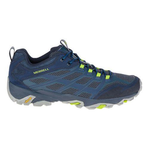 Mens Merrell Moab FST Hiking Shoe - Navy 9.5