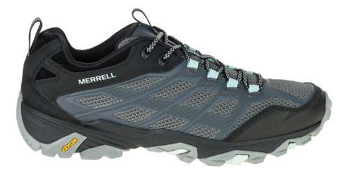 Womens Merrell Moab FST Hiking Shoe - Grey 8.5