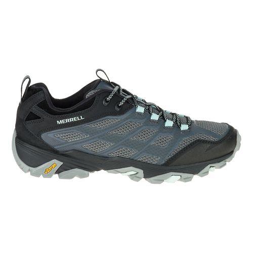 Womens Merrell Moab FST Hiking Shoe - Grey 10
