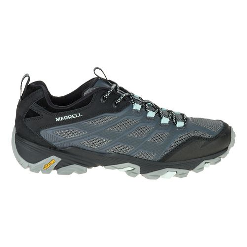 Womens Merrell Moab FST Hiking Shoe - Grey 5.5