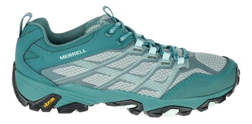 Womens Merrell Moab FST Hiking Shoe - Sea Pine 8.5