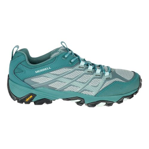 Womens Merrell Moab FST Hiking Shoe - Sea Pine 5