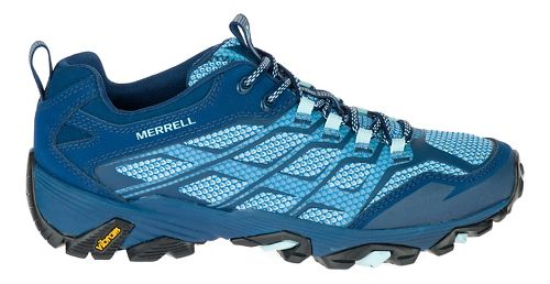 Womens Merrell Moab FST Hiking Shoe - Poseidon 7