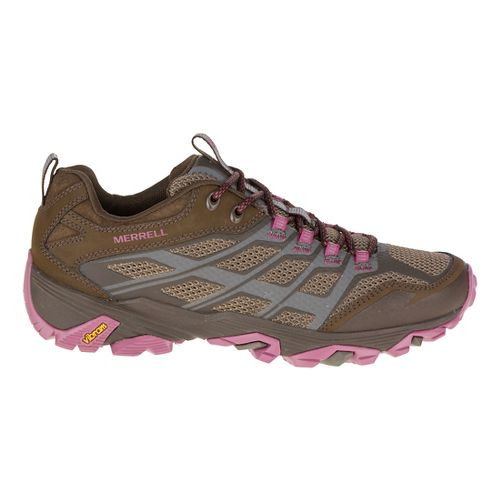 Womens Merrell Moab FST Hiking Shoe - Boulder 5.5