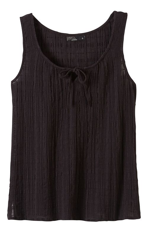 Womens Prana Jardin Sleeveless & Tank Non-Technical Tops - Black M