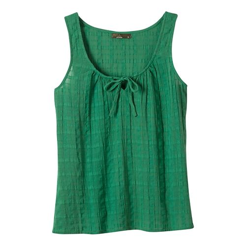 Womens Prana Jardin Sleeveless & Tank Non-Technical Tops - Dusty Pine XL