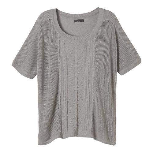 Womens Prana Nadine Sweater Non-Technical Tops - Silver S