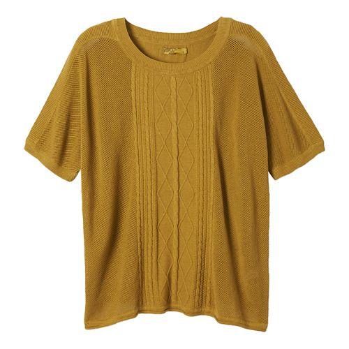 Womens Prana Nadine Sweater Non-Technical Tops - Safari L