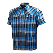 Mens Helly Hansen Jotun Shirt Short Sleeve Non-Technical Tops - Racer Blue XXL