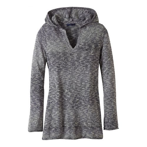 Womens prAna Gemma Sweater Half-Zips & Hoodies Non-Technical Tops - Grey L