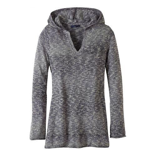 Womens prAna Gemma Sweater Half-Zips & Hoodies Non-Technical Tops - Grey M