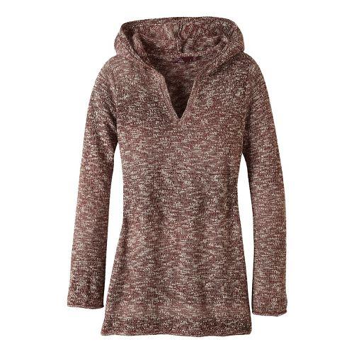 Womens prAna Gemma Sweater Half-Zips & Hoodies Non-Technical Tops - Brown XS