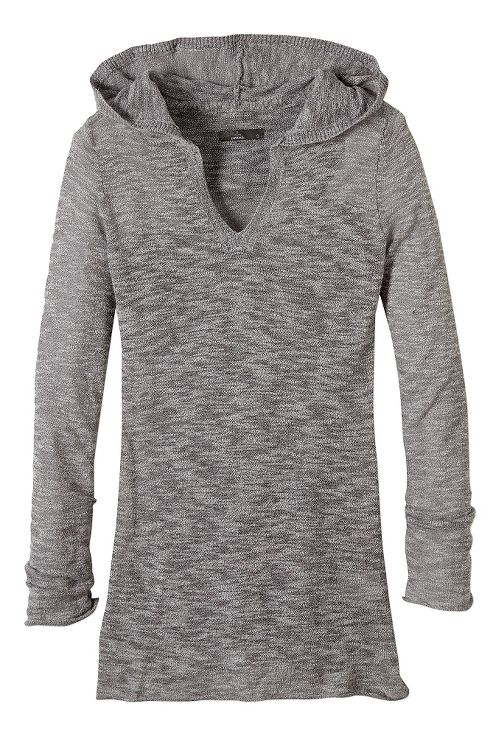 Womens prAna Gemma Sweater Half-Zips & Hoodies Non-Technical Tops - Gravel XL