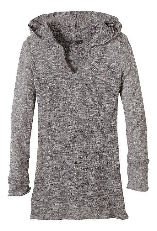 Womens prAna Gemma Sweater Half-Zips & Hoodies Non-Technical Tops - Grey L
