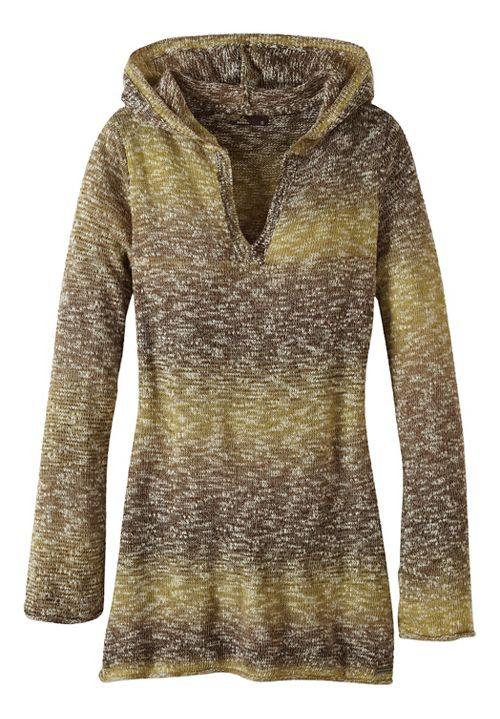 Womens prAna Gemma Sweater Half-Zips & Hoodies Non-Technical Tops - Green XL