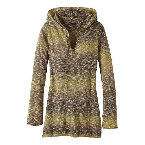 Womens prAna Gemma Sweater Half-Zips & Hoodies Non-Technical Tops - Green L