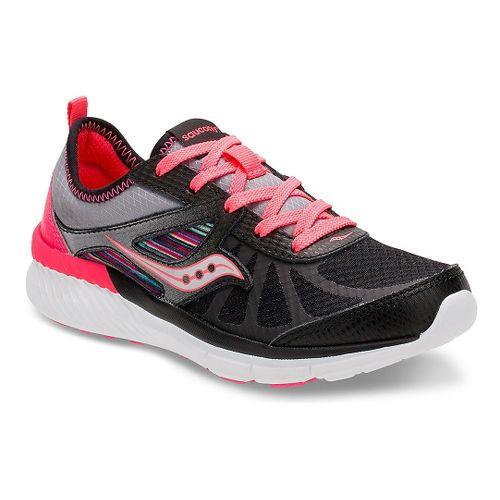 Kids Saucony Volt Running Shoe - Black/Multi 11C