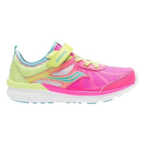 Kids Saucony Volt Alternative Closure Running Shoe - Multi 10.5C