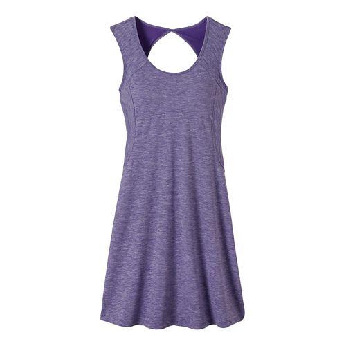 Womens Prana Calico Dresses - Ultra Violet S