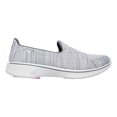 Womens Skechers GO Walk 4 Satisfy Casual Shoe