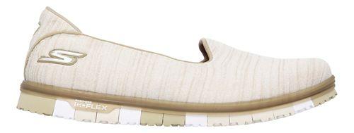 Womens Skechers GO Mini Flex Casual Shoe - Taupe 7