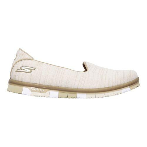 Womens Skechers GO Mini Flex Casual Shoe - Taupe 10