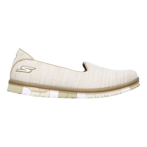 Womens Skechers GO Mini Flex Casual Shoe - Taupe 8.5
