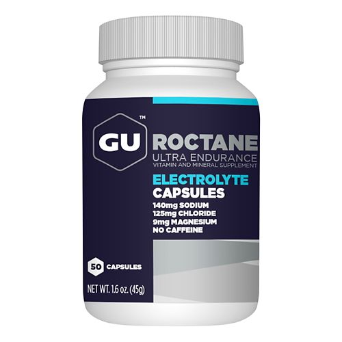 GU Roctane Electrolyte Capsules 50 count Bottle Supplement - null