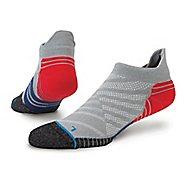 Mens Stance Fusion Run Obstruct Tab Socks