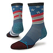 Mens Stance Fusion Run Slanty Crew Socks
