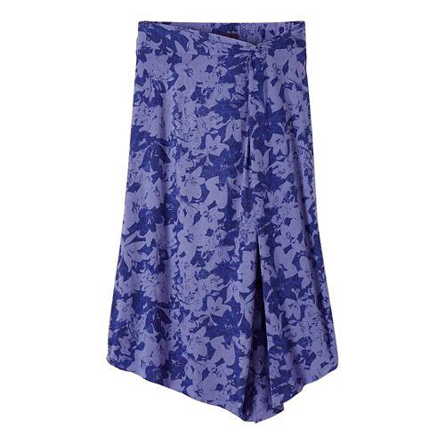 Womens Prana Jessalyn Fitness Skirts - Dusted Peri L