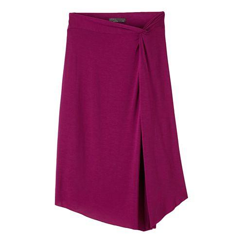 Womens Prana Jessalyn Fitness Skirts - Rich Fuchsia XS
