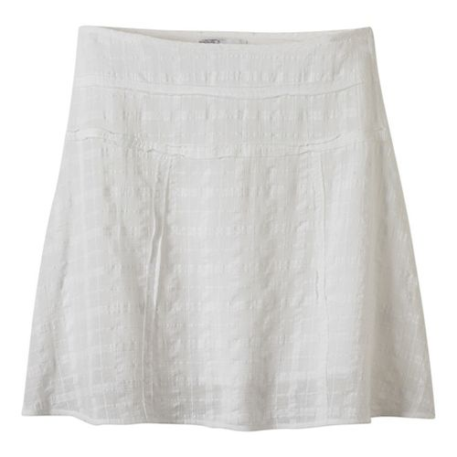 Womens Prana Erin Fitness Skirts - White 10