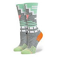 Womens Stance Fusion Athletic Crunch Crew Socks