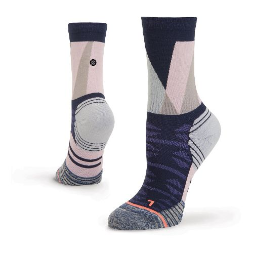 Womens Stance Fusion Run Arch Crew Socks - Blue S