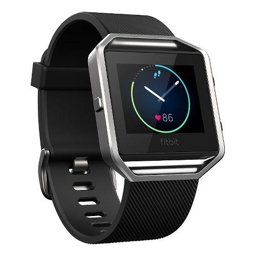 Fitbit Blaze Smart Fitness Watch Monitors - Black L