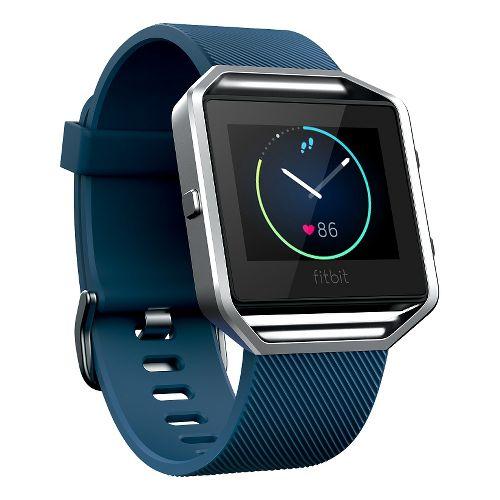 Fitbit Blaze Smart Fitness Watch Monitors - Blue S