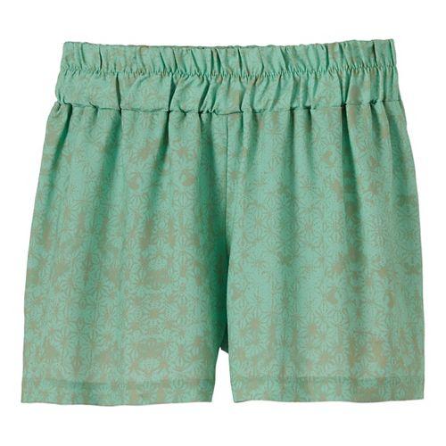 Womens Prana Kerry Shorts - Light Jade S