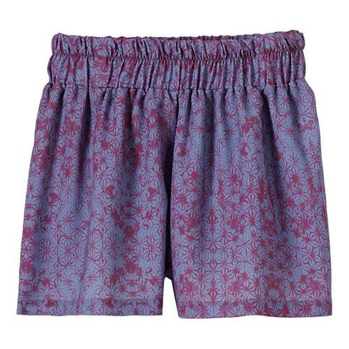 Womens Prana Kerry Shorts - Purple Fog XS