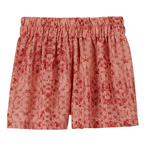 Womens Prana Kerry Shorts - Bright Coral S