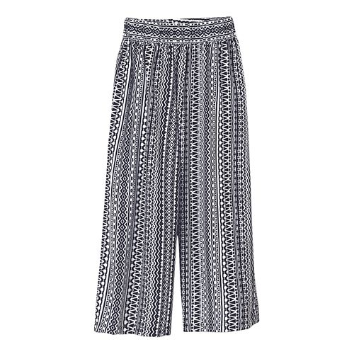 Womens Prana Kiran Culotte Capris Pants - Black L
