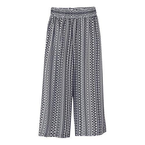 Womens Prana Kiran Culotte Capris Pants - Black XS