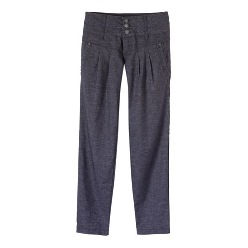 Womens Prana Lizbeth Capris Pants - Coal 10